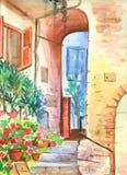 Yarda italiana Imagen de archivo libre de regalías