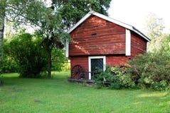 Yarda y edificio Foto de archivo libre de regalías