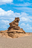 Yardang Landform Stock Photography