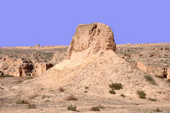 Yardang Landform royalty free stock photography