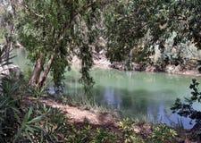 Yardenit - chrzestny miejsce jezus chrystus zdjęcie royalty free