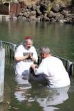 Yardenit sur le fleuve Jourdain Images stock
