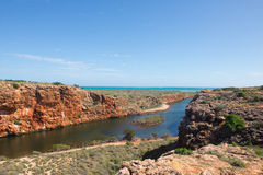 Yardie Creek Cape Range Ningaloo Reef Australia Stock Image