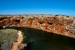 Yardie Creek Gorge. Exmouth - Australia royalty free stock images
