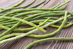 Yardlong Bean, organic long bean Stock Photography