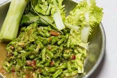 Yardlong-Bohnensalat Stockbild