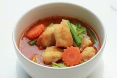 Yardlong curry med potatisen Fotografering för Bildbyråer