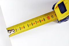 Yardstick. Studio shot of a yardstick Royalty Free Stock Image