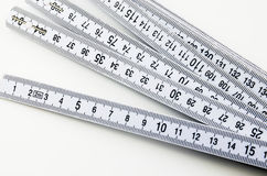 Yardstick Stock Image