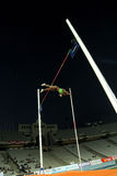 Yarisley Silva of Cuba. Jumping on pole vault Event of Barcelona Athletics meeting at the Olympic Stadium on July 22, 2011 in Barcelona, Spain Stock Photography