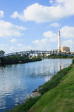 Yarkon Bridge Royalty Free Stock Photos