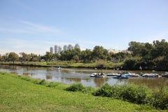 Yarkon river Royalty Free Stock Images