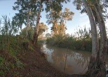 Yarkon river in Israel Stock Images
