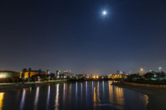 Yarkon river Royalty Free Stock Images