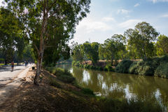 Yarkon River in Tel Aviv Stock Photos