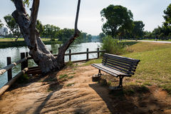 Yarkon River in Tel Aviv Stock Image