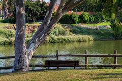 Yarkon River in Tel Aviv Royalty Free Stock Images