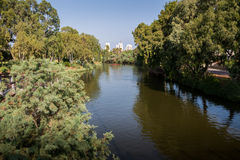 Yarkon River in Tel Aviv Royalty Free Stock Photos