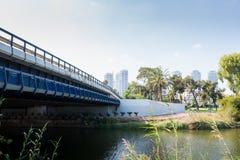 Yarkon River in Tel Aviv Stock Photo