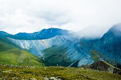 Yarlu valley. Altai. Russia Royalty Free Stock Photos