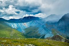 Yarlu valley. Altai. Russia Royalty Free Stock Image