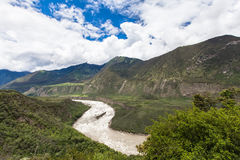 Yarlung Zangbo Grand Canyon Photo libre de droits