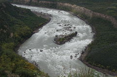 Yarlung Zangbo River Royalty Free Stock Images