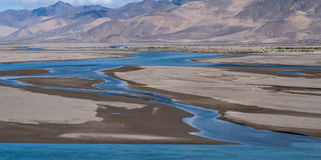 Yarlung Zangbu River Royalty Free Stock Photo