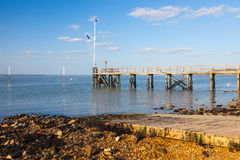 Yarmouth on the Isle Of Wight England Stock Photography