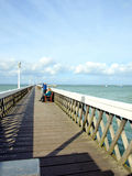 Yarmouth Pier, Isle of Wight. Stock Photography