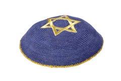 Yarmulke ebreo fotografie stock