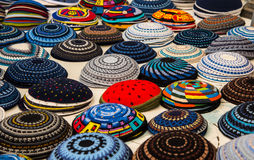 Yarmulke, a Jewish head covering Royalty Free Stock Image