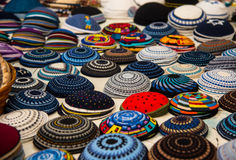 Yarmulke, a Jewish head covering Royalty Free Stock Photo