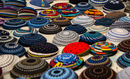 Yarmulke, a Jewish head covering Royalty Free Stock Images