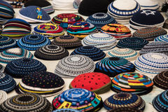 Yarmulke, a Jewish head covering Royalty Free Stock Photos