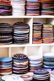 Yarmulke - traditional Jewish headwear, Israel. Royalty Free Stock Photography
