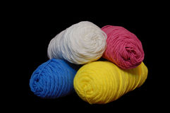 Yarn. Comes in many different colors Stock Photography