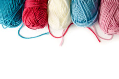 Yarn background Stock Photography
