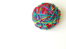 Yarn Ball Stock Image