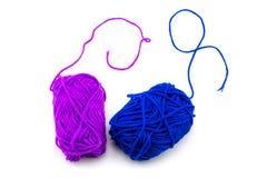 yarn ball with woolen thread Stock Photography
