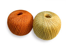 Yarn balls. Royalty Free Stock Photos