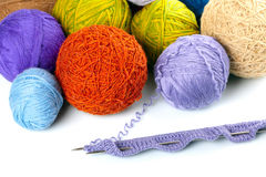 Yarn balls Stock Photography