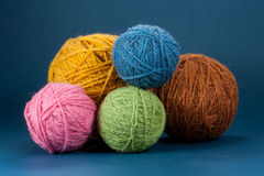 Yarn Balls Stock Photos