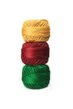 Yarn balls Stock Photos