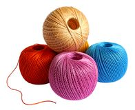 Yarn balls Royalty Free Stock Images