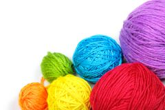 Yarn balls Royalty Free Stock Photo