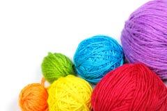 Yarn balls Royalty Free Stock Photo