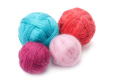 Yarn in balls Stock Image