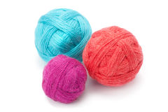 Yarn in balls Stock Images