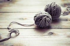 Yarn Stock Image